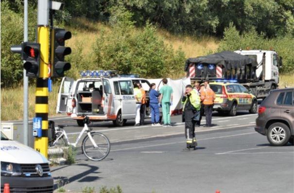 """Vrachtwagenchauffeur voor politierechter na fataal dodehoekongeval: """"Nooit beseft, tot ik uitstapte"""""""