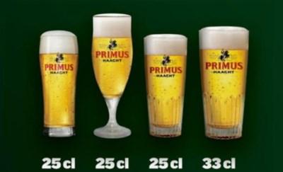 Ambras om uw glas: alleen maar 30 cl of de vrije keuze? Primus mengt zich in 'bierglazenrel'