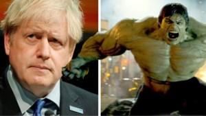 """De """"echte"""" Hulk dient Boris Johnson van antwoord"""