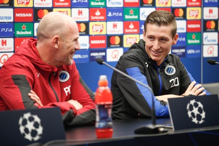 """Philippe Clement: """"Winst tegen Galatasaray is grote stap naar derde plaats"""""""