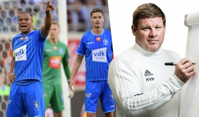 """Hein Vanhaezebrouck over de titelkandidaten: """"AA Gent vormt nu de grootste bedreiging voor Club Brugge"""""""