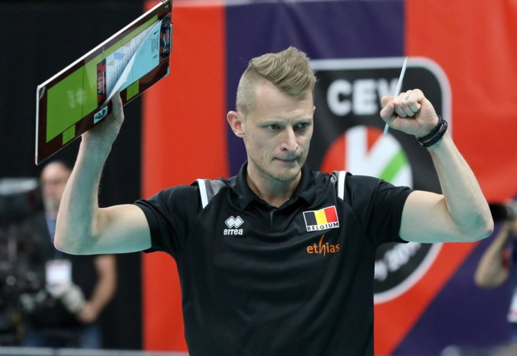 Red Dragons hakken ook Slovakije in de pan op EK volleybal: vierde winst op rij