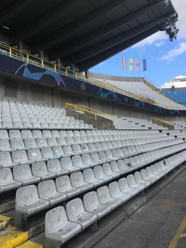 Jan Breydelstadion is volledig 'bekomen' van Brugs derby