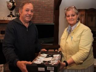 Frans verzamelde 81.000 (!) balpennen, nu schenkt hij er ruim duizend weg