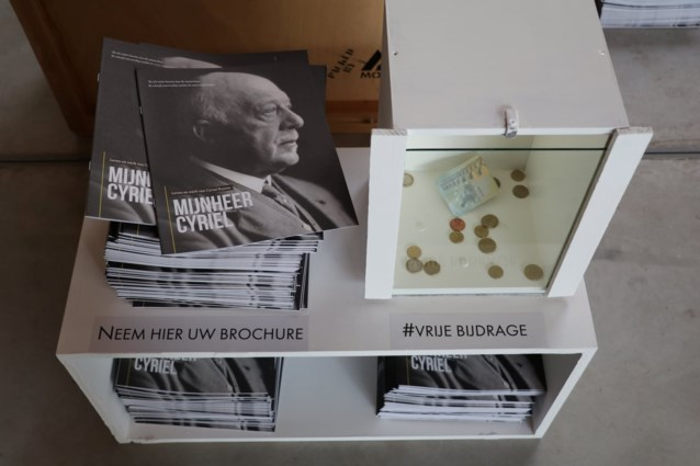Brochure over Cyriel Buysse in Deins cultureel centrum