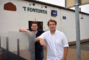 """Twee vrienden heropenen café 't Fonteintje: """"We wilden iets doen voor de horeca in ons dorp"""""""