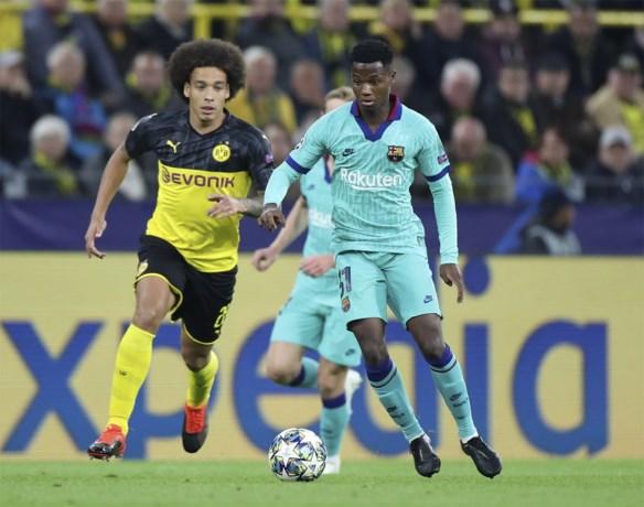 Ansu Fati schrijft alweer geschiedenis bij FC Barcelona in de Champions League