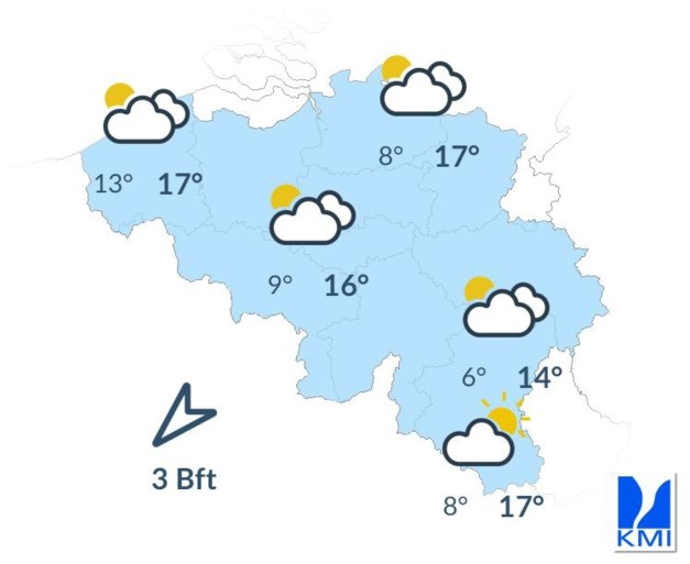 De zomer is nog niet voorbij: komend weekend opnieuw richting 27 graden