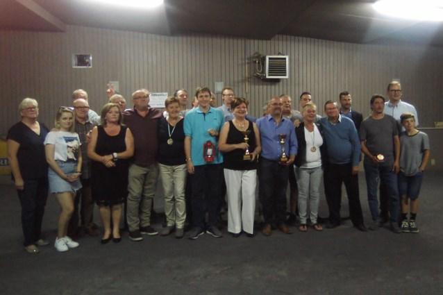 Petanque COC viert kampioenen
