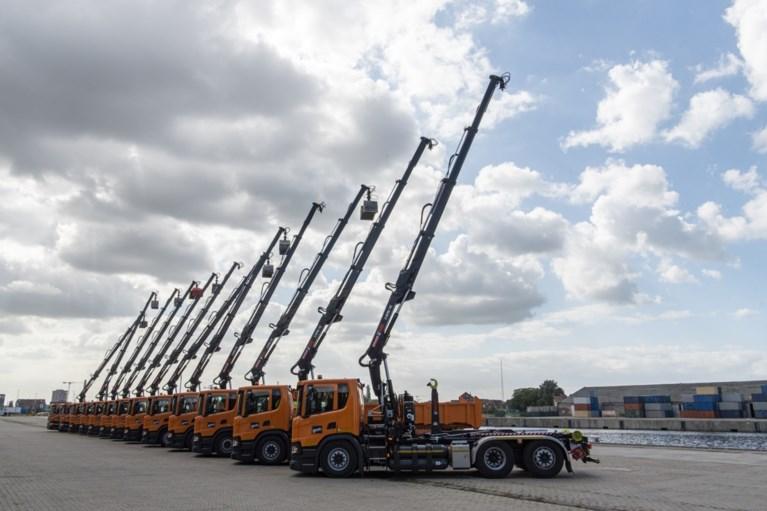 Kaak, kaak, ne camion op aardgas: Gent investeert half miljoen in wagenpark