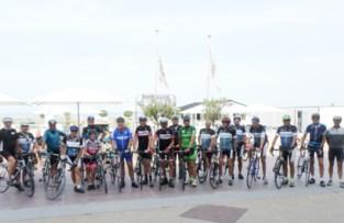 Flandriens en DMD Marolle fietsen samen naar Knokke