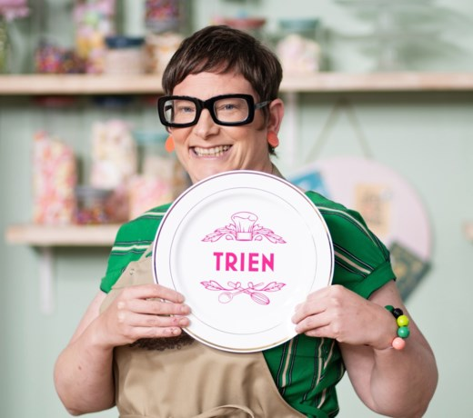 Trien is uitgebakken in 'Bake off'