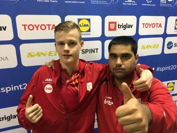 Florian Van Acker en Laurens Devos pakken opnieuw Europese titel paratafeltennis