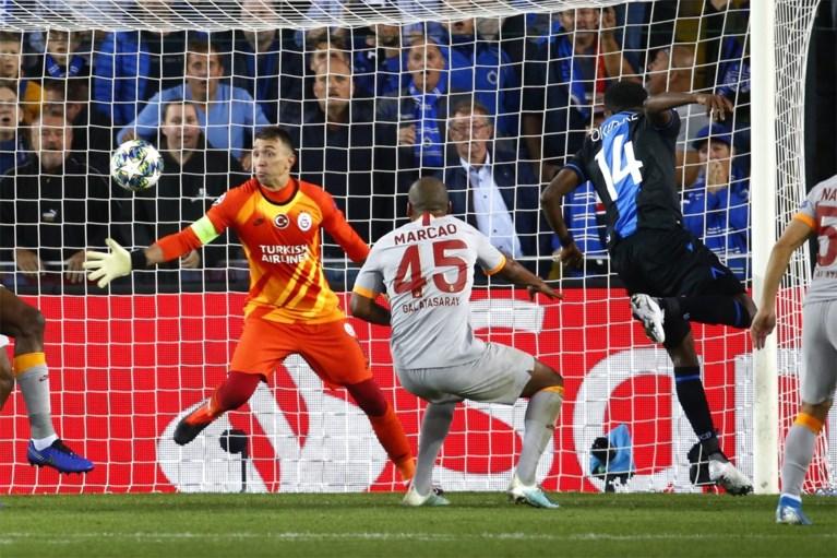 Gemiste kans: sterk Club Brugge doet zichzelf tekort met 0-0 in Champions League tegen Galatasaray