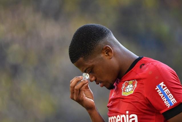 Bayer Leverkusen moet Leon Bailey vier weken missen