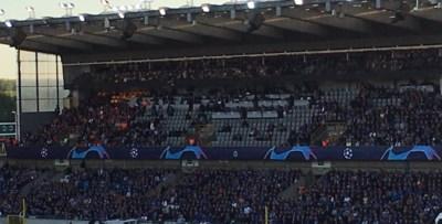 Waarom honderden zitjes leeg bleven tijdens uitverkochte Club Brugge-Galatasaray