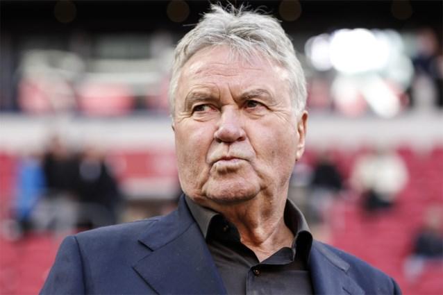 China ontslaat Guus Hiddink als coach van olympische voetbalploeg