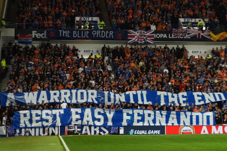Fernando Ricksen krijgt indrukwekkend eerbetoon voor Rangers - Feyenoord, Thomas Buffel legt truitje neer