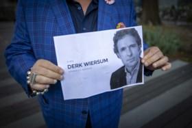 Bloemenzee voor kantoor en woning van vermoorde advocaat Wiersum