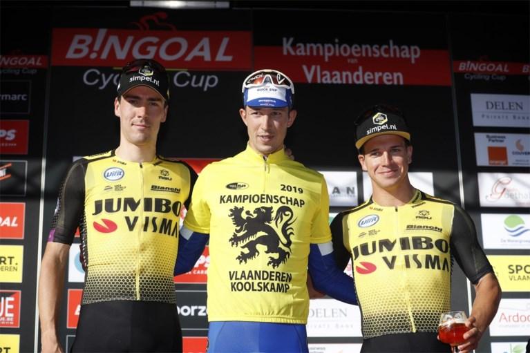 Deceuninck - Quick Step schiet met jonge Jannik Steimle ook raak in Kampioenschap van Vlaanderen in Koolskamp