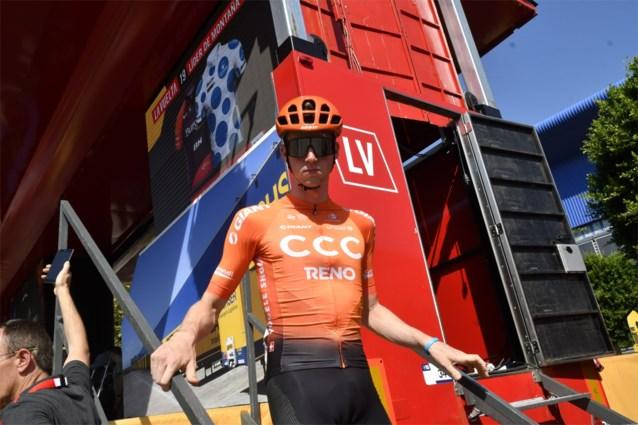 CCC Team met mannetje minder in Kampioenschap van Vlaanderen: Nathan Van Hooydonck krijgt extra dagje rust