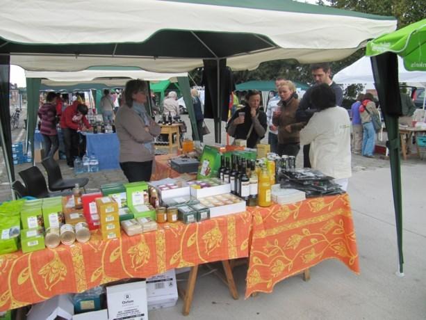 Zondag bio- en ecomarkt op het Sint-Poppoplein