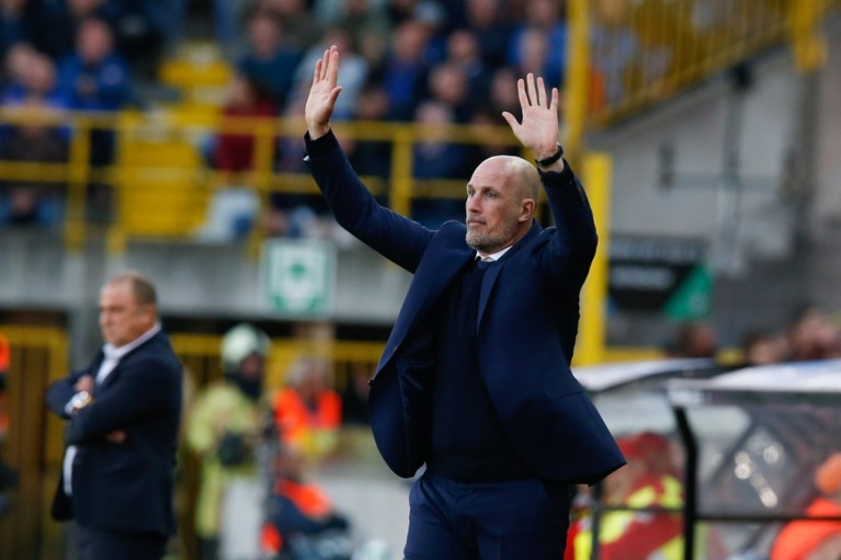 """Club Brugge-trainer Philippe Clement voor topper: """"Ik apprecieer de manier van voetballen van Anderlecht"""""""