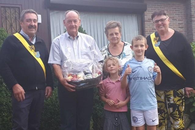 Gouden huwelijk voor familie Tweepenninckx uit Wever