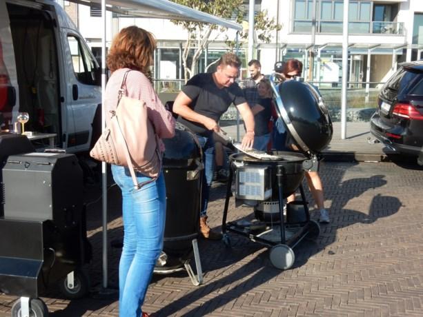 Nog een dagje barbecue op Grote Markt