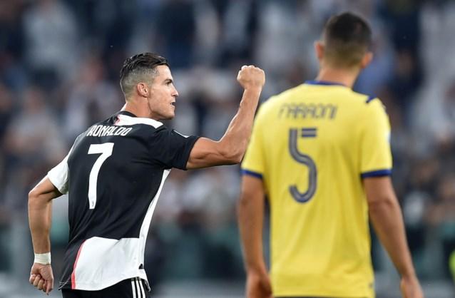 Juventus wint van Verona, dat wereldgoal maakt vlak na dubbele penaltymisser