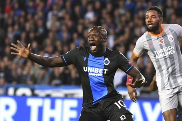 Opvallend: door Club gekaapte transfer in de tribune voor topper tegen Anderlecht