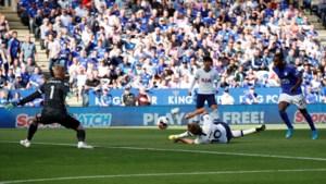 Harry Kane scoort de voorlopig merkwaardigste goal van het seizoen, maar Tottenham verliest weer op verplaatsing