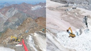 Oostenrijk vernietigt gletsjer om skigebied uit te breiden