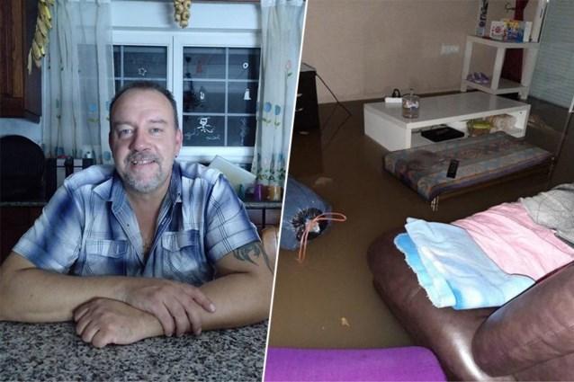 """Vlaming Erwin zat vast in Spanje door zware regenval: """"Vijf dagen eieren en brood gegeten"""""""
