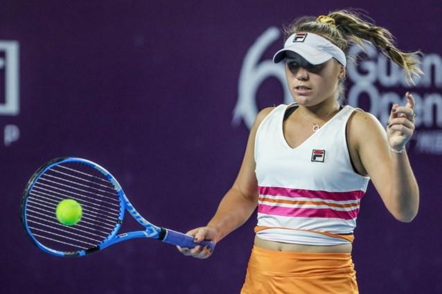 Sofia Kenin steekt titel op zak in Guangzhou