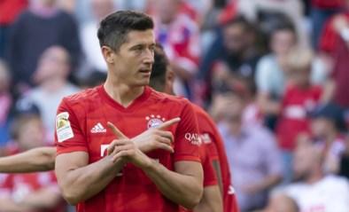 Twee goals en twee records voor Robert Lewandowski