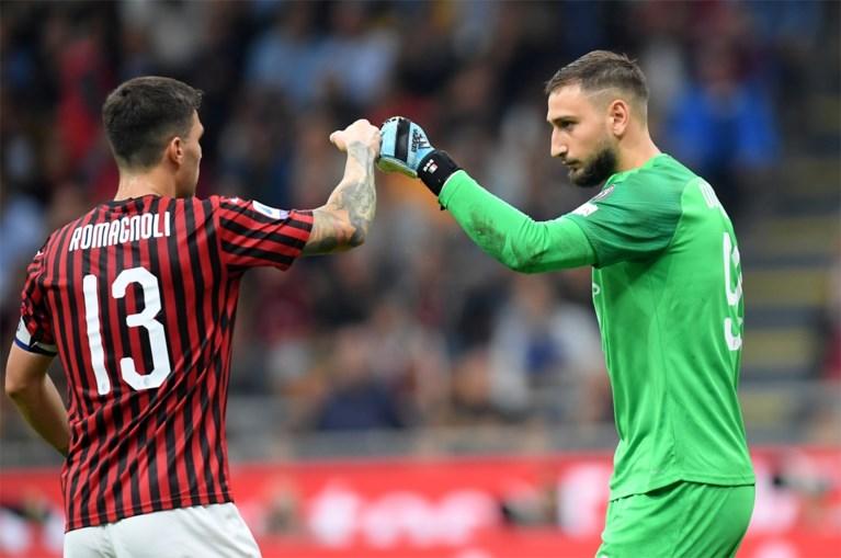 Romelu Lukaku scoort in Derby della Madonnina, Inter blijft ongeslagen aan de leiding