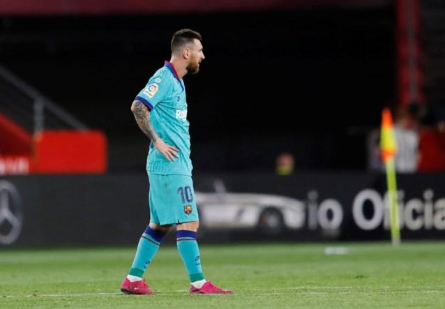 Ook Barcelona draait vierkant: Messi en co verliezen van verrassende leider