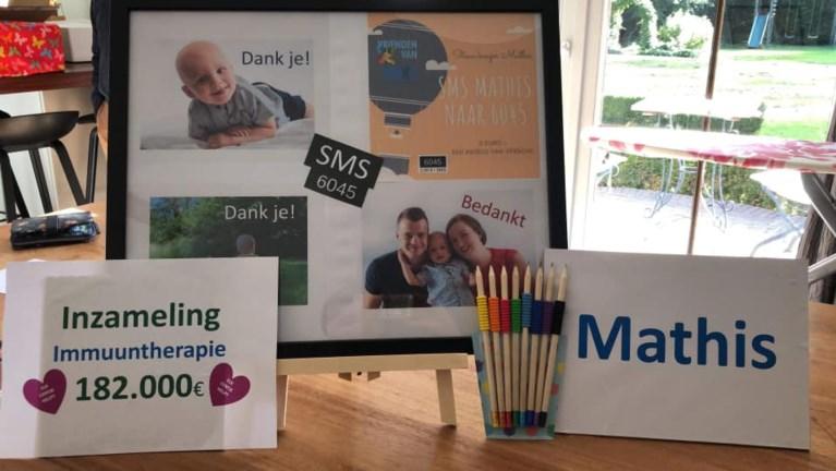 Ouders van ernstig zieke peuter Mathis hopen zoontje te redden met sms-actie