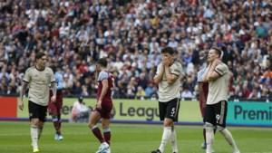 Manchester United blijft op de sukkel: West Ham dient zwakke Red Devils tweede nederlaag van het seizoen toe