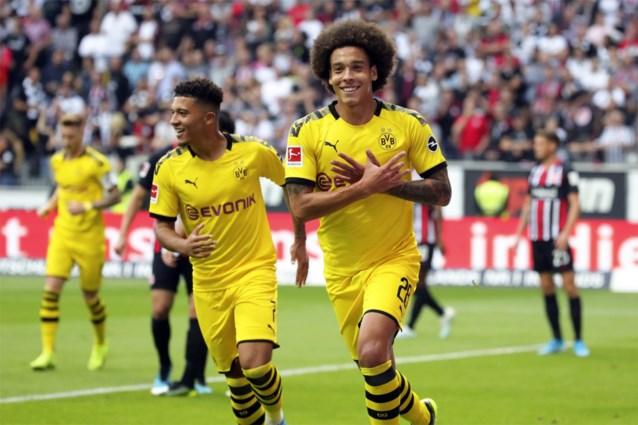 Een Belgisch doelpunt in de Bundesliga: Thorgan Hazard deelt knappe assist uit voor doelpunt van Axel Witsel