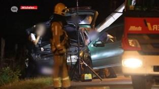 VIDEO. Wilde achtervolging eindigt met crash in Schellebelle