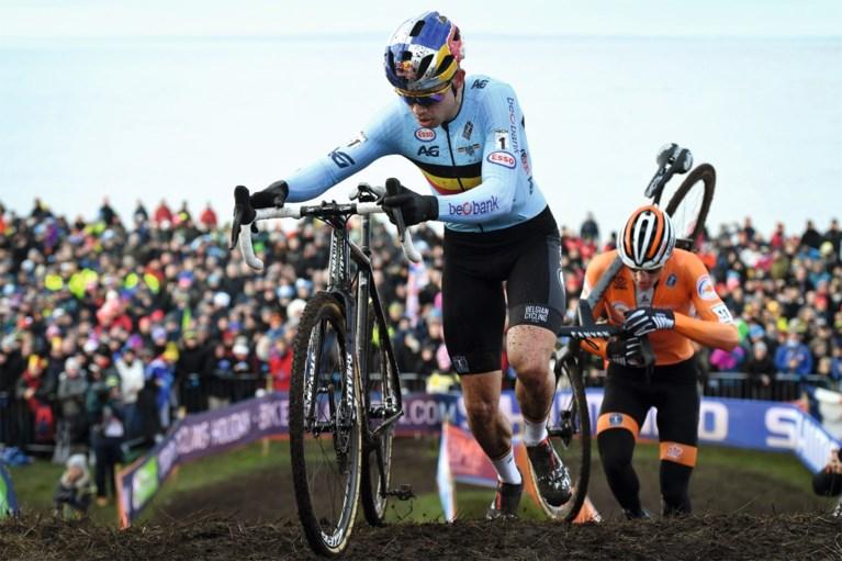 """Wout Van Aert hoopt deze winter nog te crossen: """"Ik ga er alles aan doen"""""""
