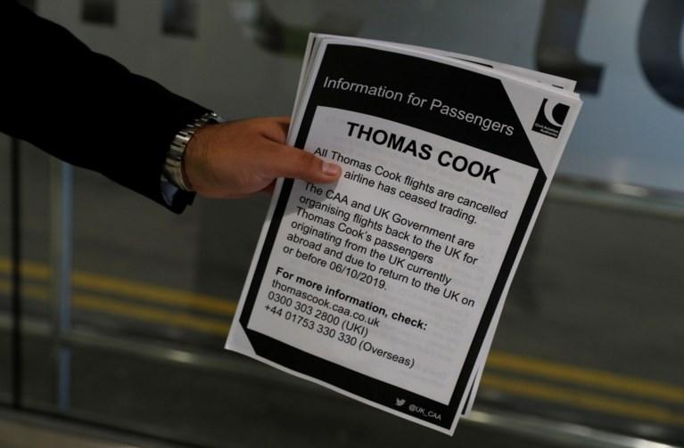Laatste vlucht van Britse Thomas Cook geland in Manchester
