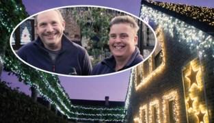 Te vroeg voor kerstversiering? Dit koppel uit Overmere hangt huis vol met 100.000 lichtjes