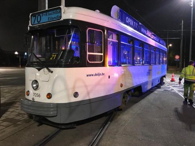Tram ontspoord in Antwerpen: moeilijke ochtendspits