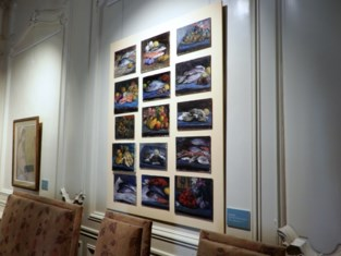 Kunstschilder Karel Mechiels in de spots