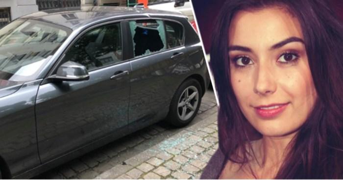 Ruit in duizend stukken, spullen gestolen en bloed op de zetels: Janna wil weg uit Brussel na zoveelste incident