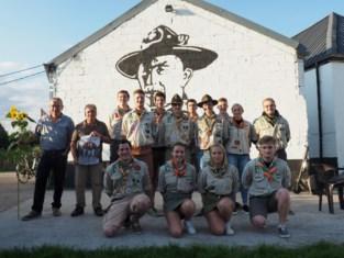 Scouts vieren 70-jarig bestaan met zonnebloementapijt en tweedaags feest