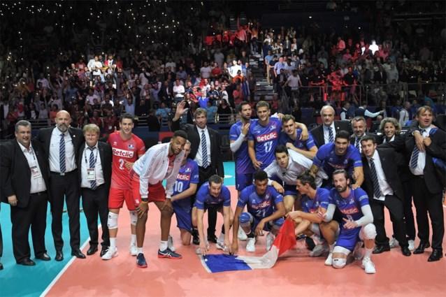Frankrijk en Servië naar halve finales EK volleybal